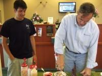 Bauer-Hillis Funeral Home shows appreciation for Northwest Savings Bank