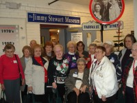 Bauers Steps Ahead enjoys visit to Jimmy Stewart Museum