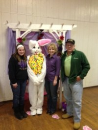 Rimersburg Chamber of Commerce hosts Bunny Egg-Stravaganza for Area Children