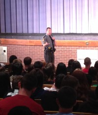 Karns City students learn about dangers of drinking and driving on prom night