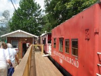 Bauer-Hillis Steps Ahead rides the rails of the Kiski Junction Railroad