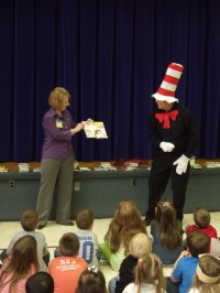 Bauer-Hillis Funeral Home celebrates Read Across America Day