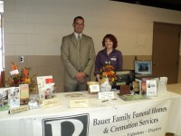 Bauer Family Funeral Homes participate in 2014 Armstrong County Senior Expo