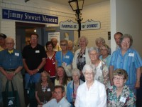 Bauer-Hillis Steps Ahead enjoys the Jimmy Stewart Museum and announces the June event