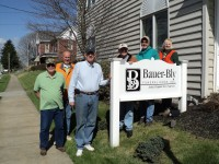 Bauer-Bly Funeral Home staff participates in Adopt-A-Highway